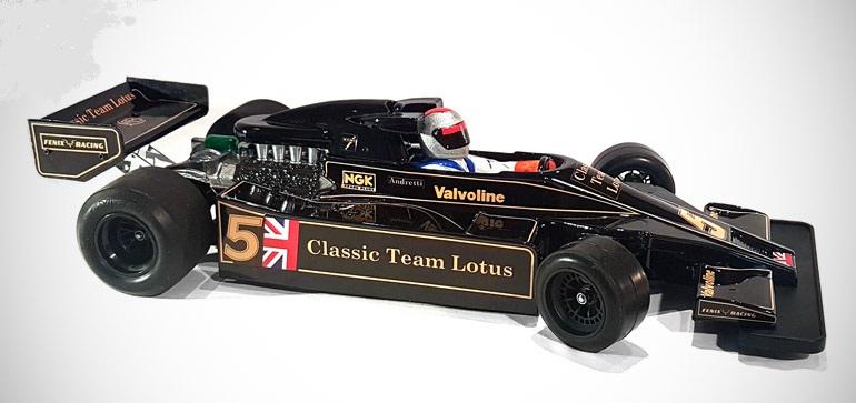 Fenix CTL78 - Classic Team Lotus 78 Clear Body, Fits Tamiya F103 & F104
