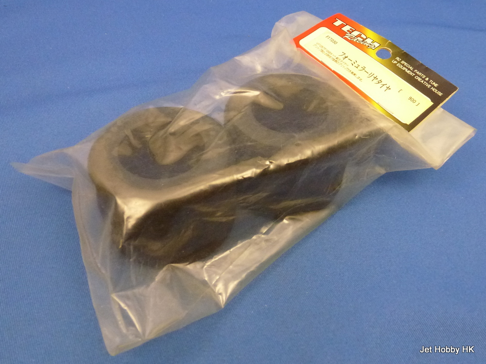 Tech Racing F1T030 - Rear Sponge Tire (Tamiya F103)
