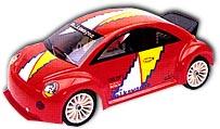 Colt M01RTR- New Beetle - 1:10 Mini Nitro Car, 2-Speed, RTR