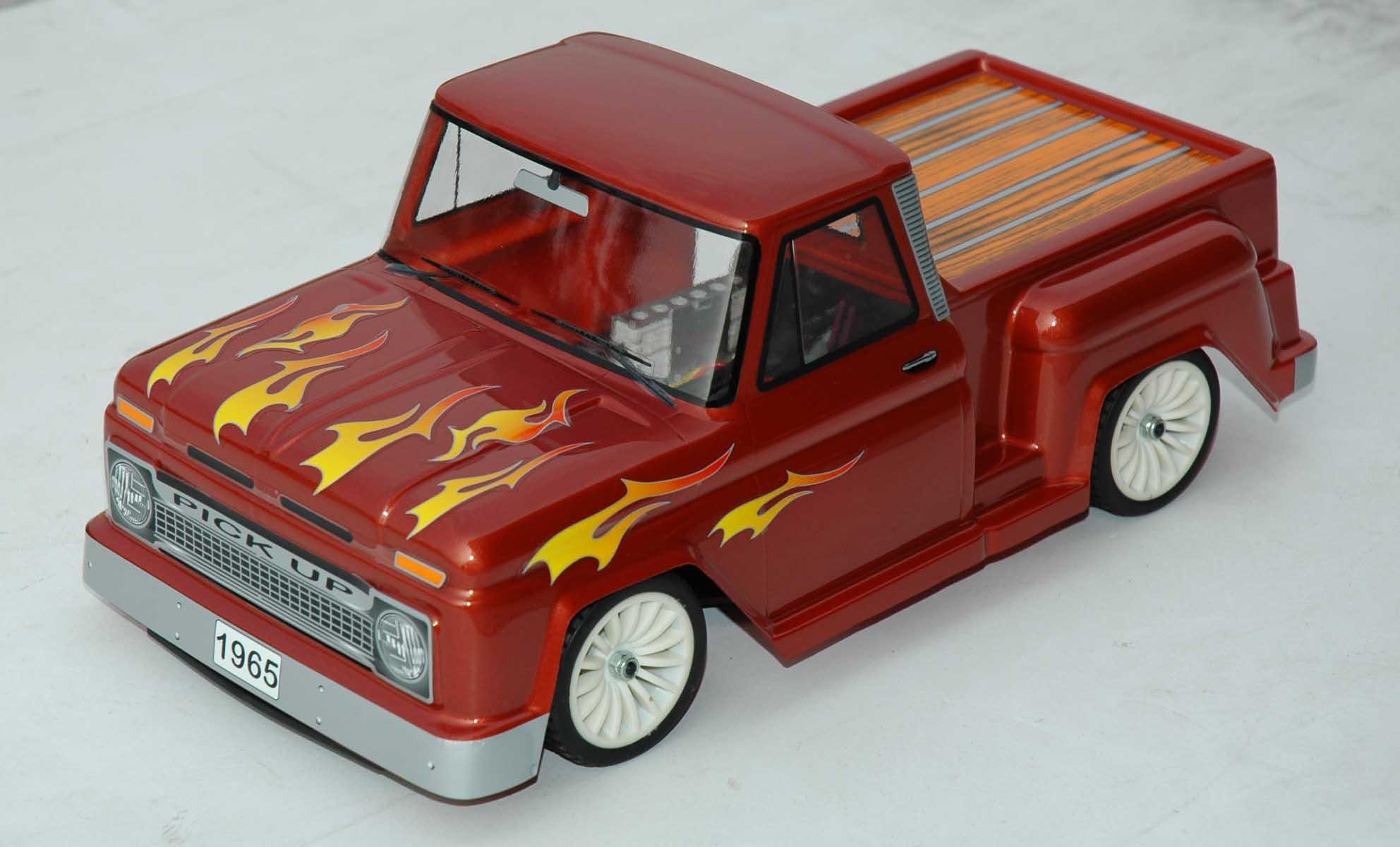Colt M01RTR-Chevy Pick Up - 1:10 Mini Nitro Car, 2-Speed, RTR