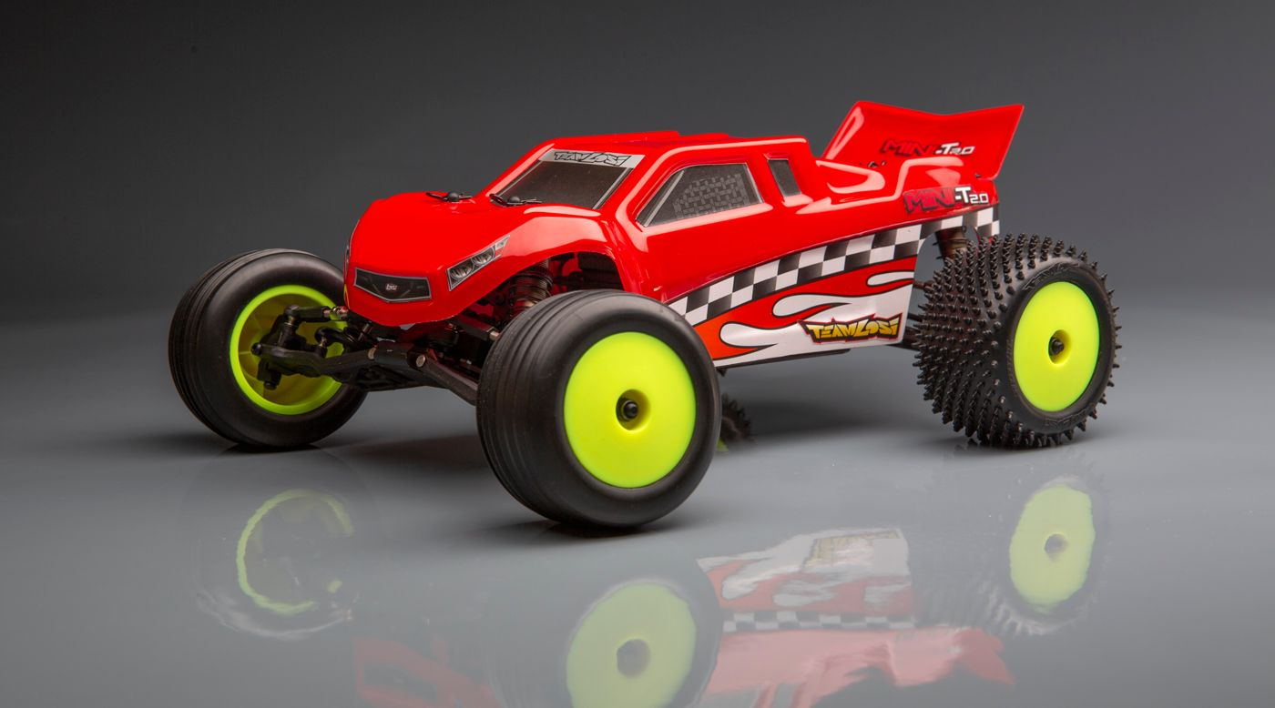Losi LOS01017 - 1/18 Mini-T 2.0 Stadium Truck Brushless RTR, 40th Anniversary Limited Edition