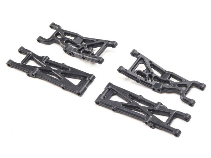 LOSI LOS214003 - Suspension Arm Set Front Rear (Mini-T 2.0)