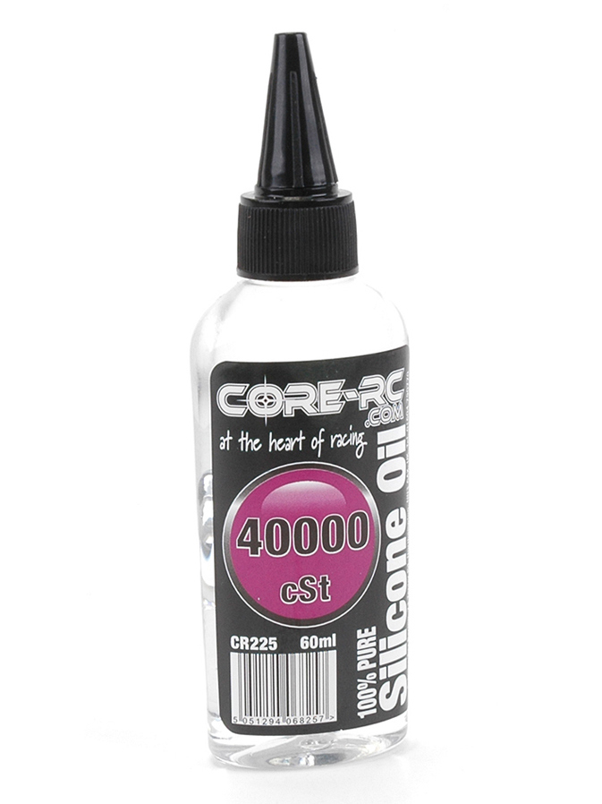 Core CR225 - CORE RC Silicone Oil - 40000cSt - 60ml