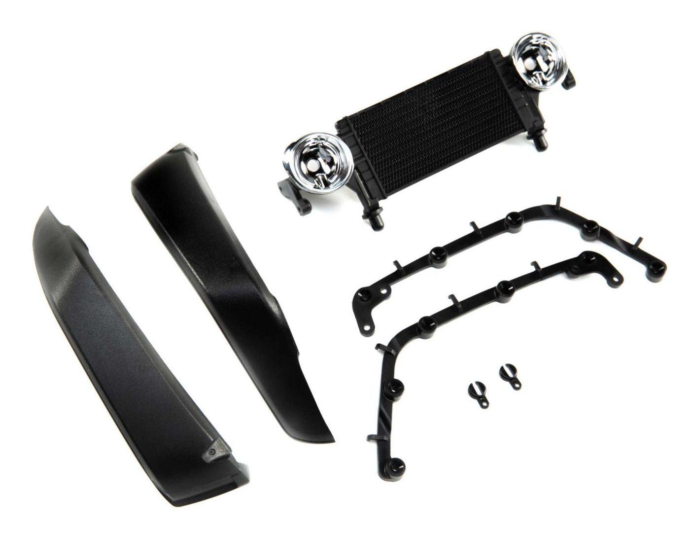 Axial AXI230020 - Radiator & Front Fenders (Jeep JLU: SCX10 III)