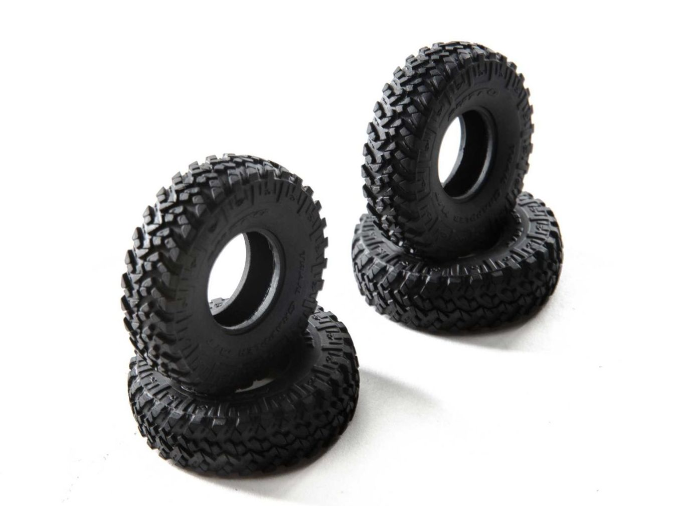 Axial AXI31567 - 1.0 Nitto Trail Grappler, Monster Truck Tires (SCX24)