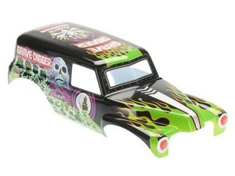 Axial AXIC1459 - Grave Digger Monster Truck Printed Body