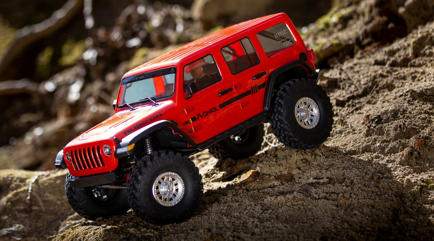 Axial AXI03003T2 - 1/10 SCX10 III Jeep JLU Wrangler with Portals RTR, Orange