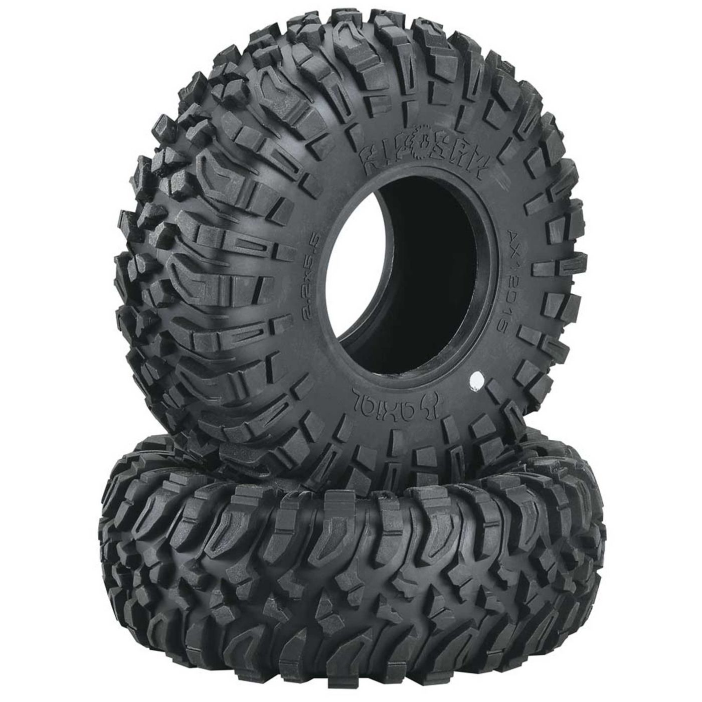 Axial AXIC2015 - 1/10 Ripsaw X Compound 2.2 Tire with Inserts