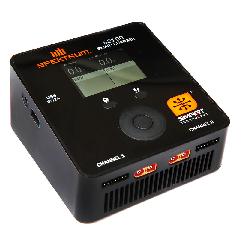 Spektrum SPMXC1010 - Smart S2100 AC Charger, 2x100W