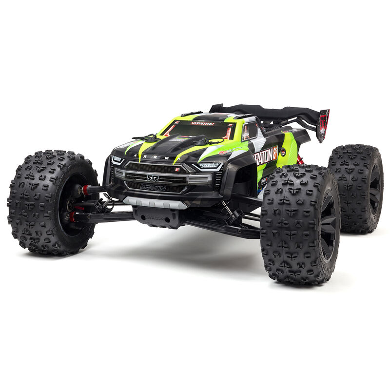 Arrma ARA110002T1 - 1/5 KRATON 4X4 8S BLX Brushless Speed Monster Truck RTR, Green