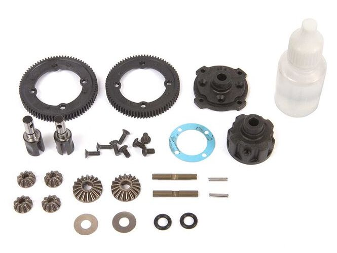 TLR 332085 - Center Diff Complete Metal (22X-4)