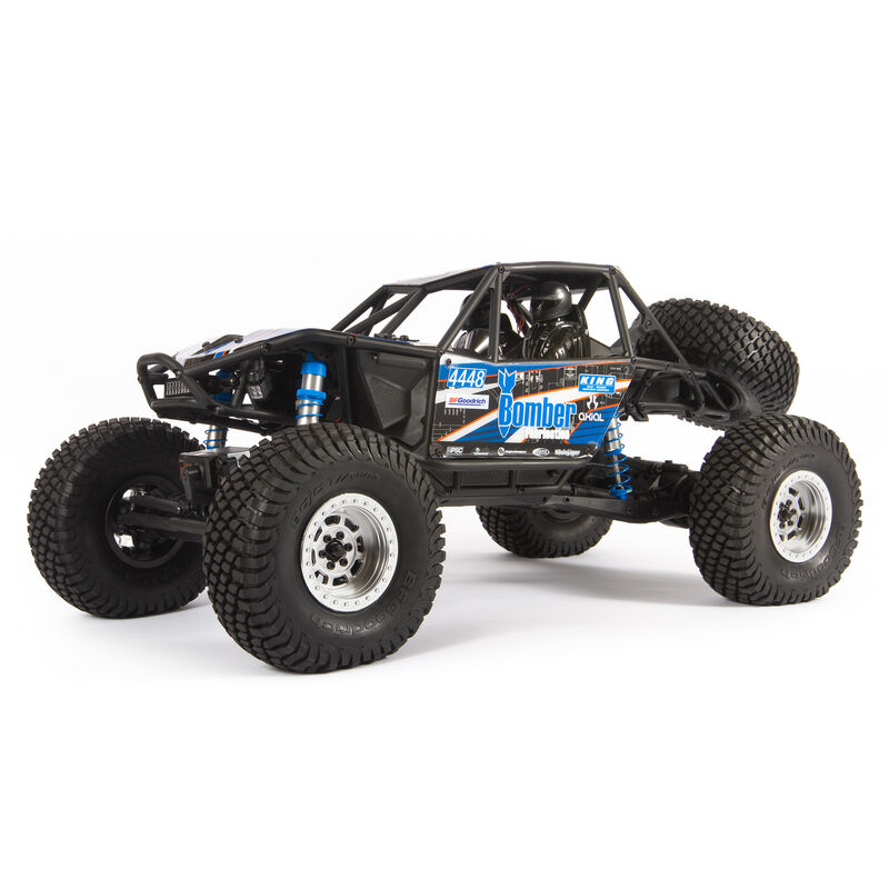 Axial AXI03016T1 - 1/10 RR10 Bomber 4WD Rock Racer RTR, Slawson