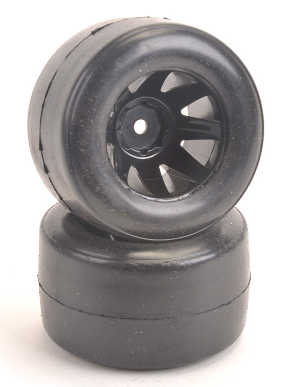 Schumacher XG-575C - Shimizu F1 Rear Tyre Soft - Pre-Glued