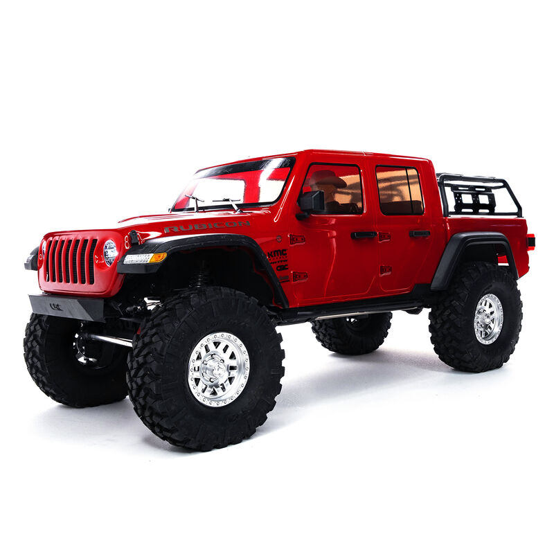 Axial AXI03006T2 - 1/10 SCX10 III Jeep JT Gladiator Rock Crawler with Portals RTR