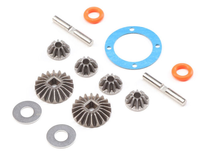 Losi LOS232051 - Open Rear Differential Gear Set (Baja Rey, Rock Rey)
