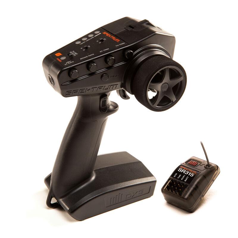 Spektrum SPM2340 - DX3 Smart 3-Channel Transmitter with SR315 Receiver