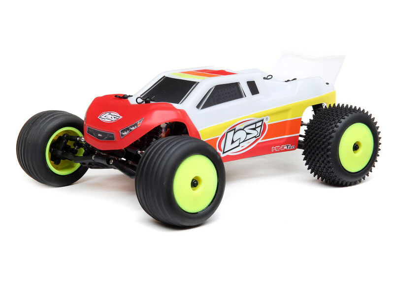 Losi LOS01019T1 - 1/18 Mini-T 2.0 2WD Stadium Truck Brushless RTR