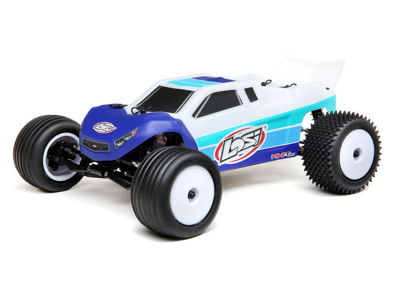 Losi LOS01019T2 - 1/18 Mini-T 2.0 2WD Stadium Truck Brushless RTR