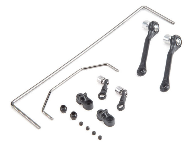 Losi LOS234006 - Front and Rear Sway Bar Links: Baja Rey