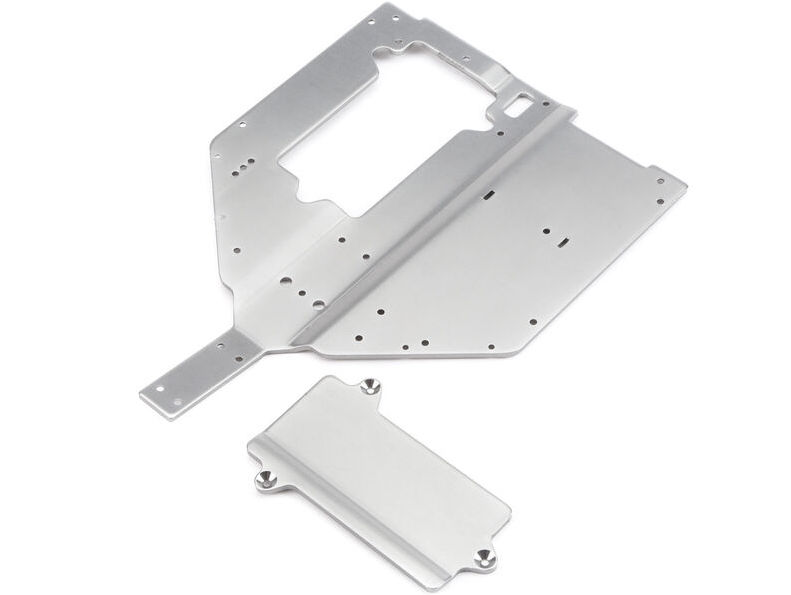 Losi LOS231010 - Chassis Plate and Motor Cover Plate (Baja Rey)