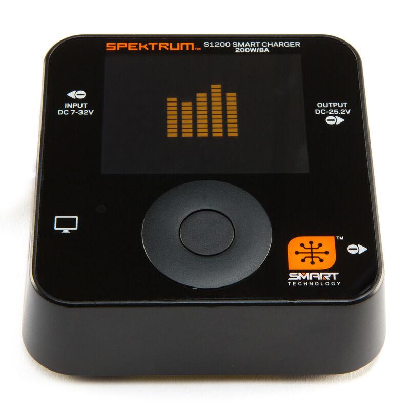 Spektrum SPMXC1000 - Smart S1200 DC Charger, 1x200W