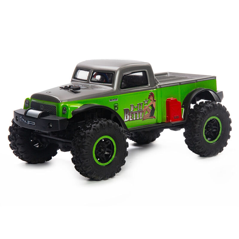 Axial AXI00004 - 1/24 SCX24 B-17 Betty Limited Edition 4WD RTR, Green