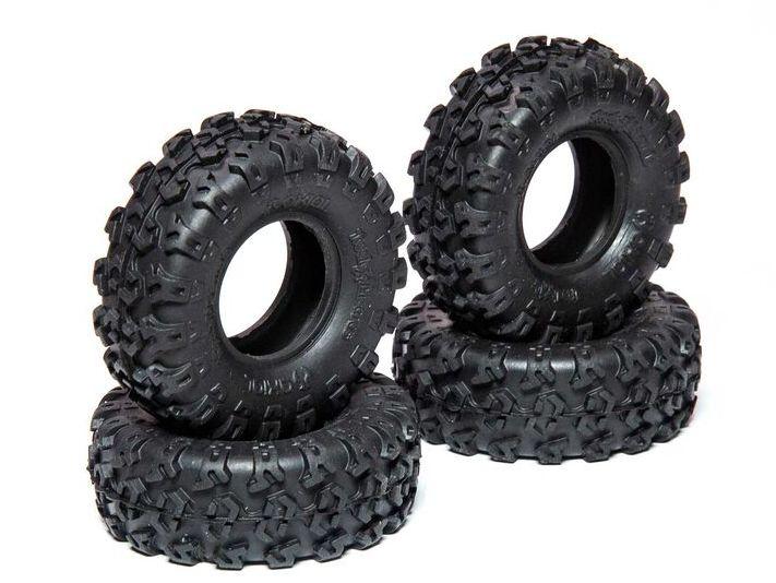 Axial AXI40003 - 1.0 Rock Lizards Tires (SCX24)