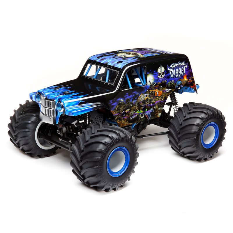 Losi LOS04021T2 - LMT 4WD Solid Axle Monster Truck RTR, Son-uva Digger