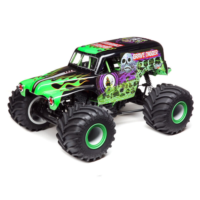 Losi LOS04021T1 - LMT 4WD Solid Axle Monster Truck RTR, Grave Digger