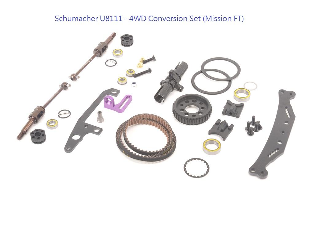 Schumacher U8111 - 4WD Conversion (Mission FT)