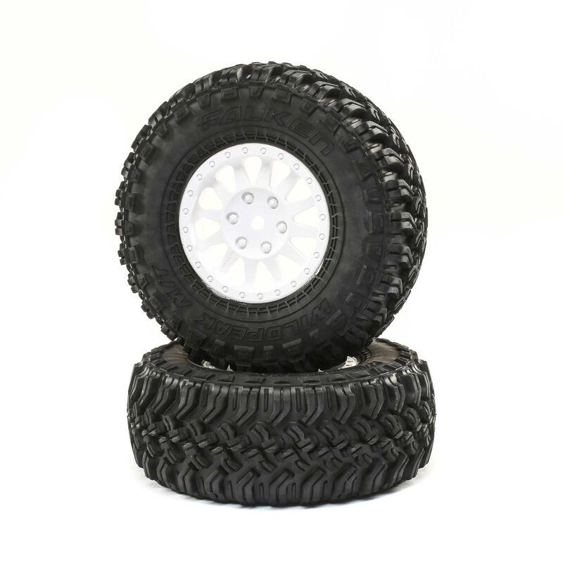 Losi LOS43026 - Method Wheel with Falken Tire (Tenacity DB Pro)
