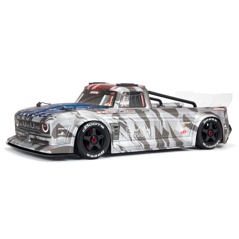Arrma ARA7615V2T2 - 1/7 INFRACTION 6S BLX V2 All-Road Truck RTR, Silver