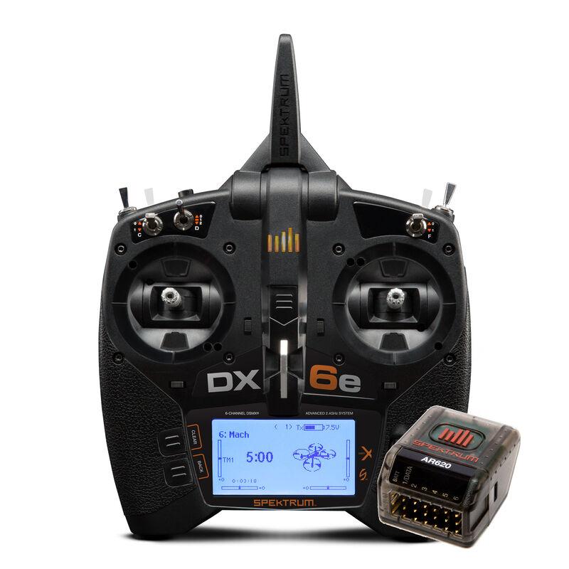 Spektrum SPM6655 - DX6e 6-Channel DSMX Transmitter with AR620