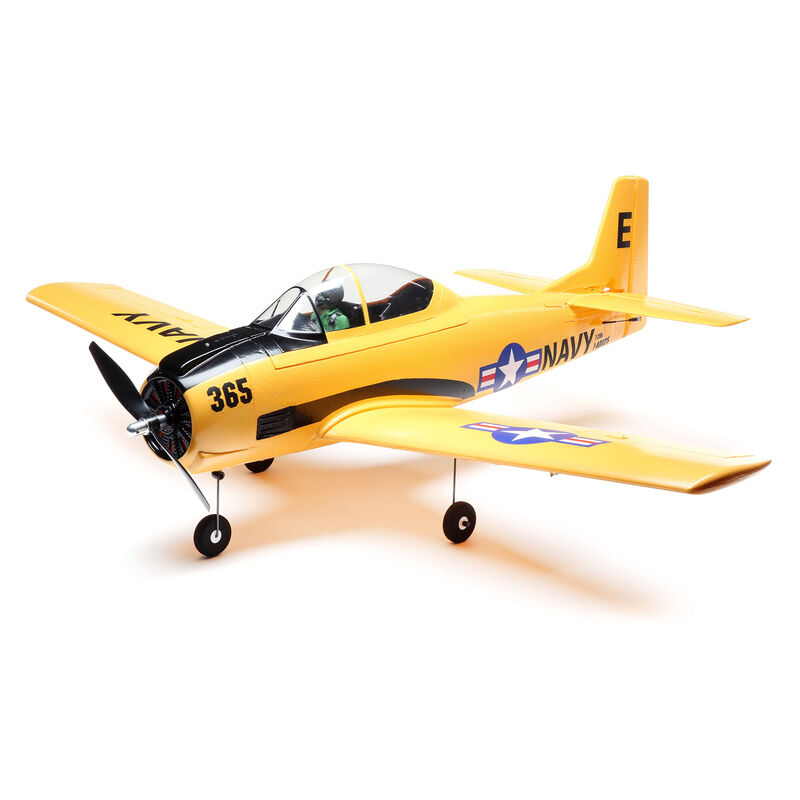 E-flite EFL08250 - T-28 Trojan 1.1m BNF Basic with AS3X and SAFE Select