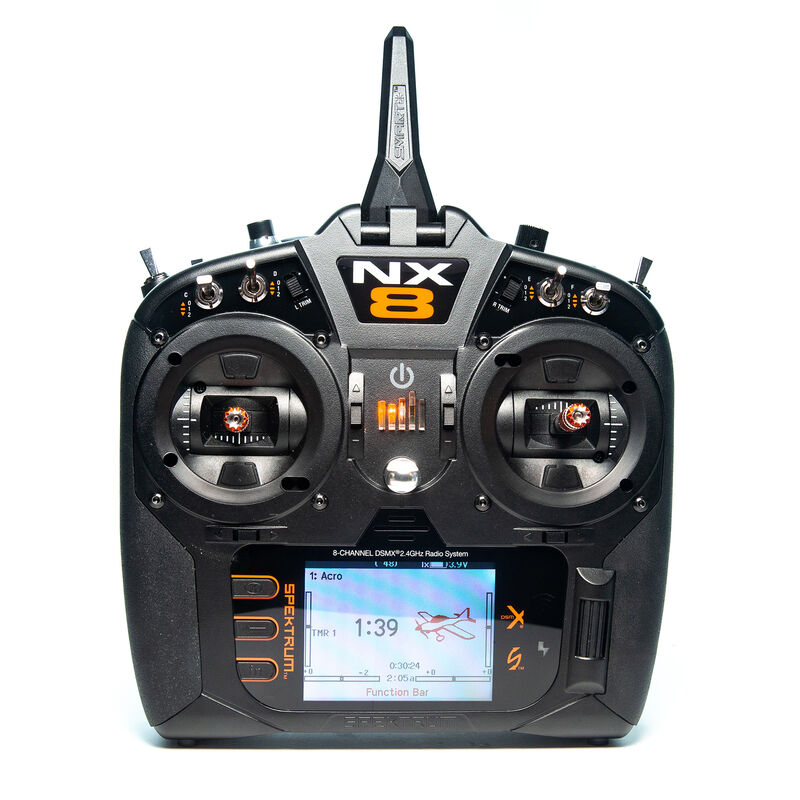 Spektrum SPMR8200 - NX8 8-Channel DSMX Transmitter Only