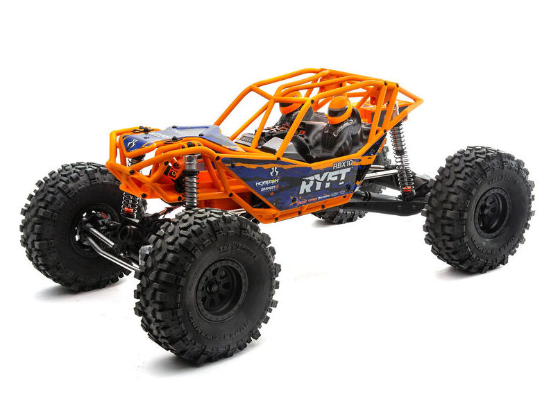 Axial AXI03005T1 - 1/10 RBX10 Ryft 4WD Brushless Rock Bouncer RTR, Orange