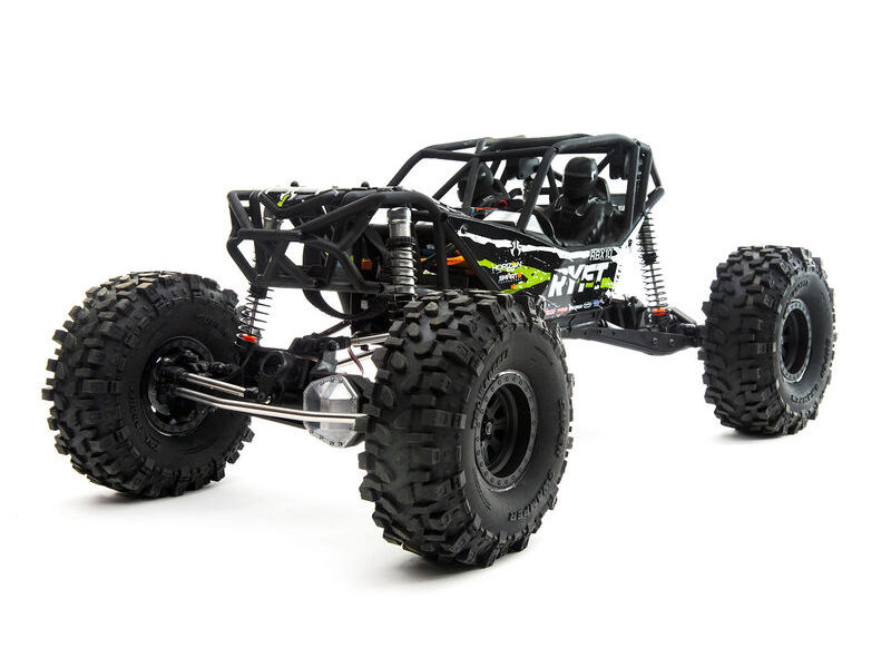 Axial AXI03005T2 - 1/10 RBX10 Ryft 4WD Brushless Rock Bouncer RTR, Black