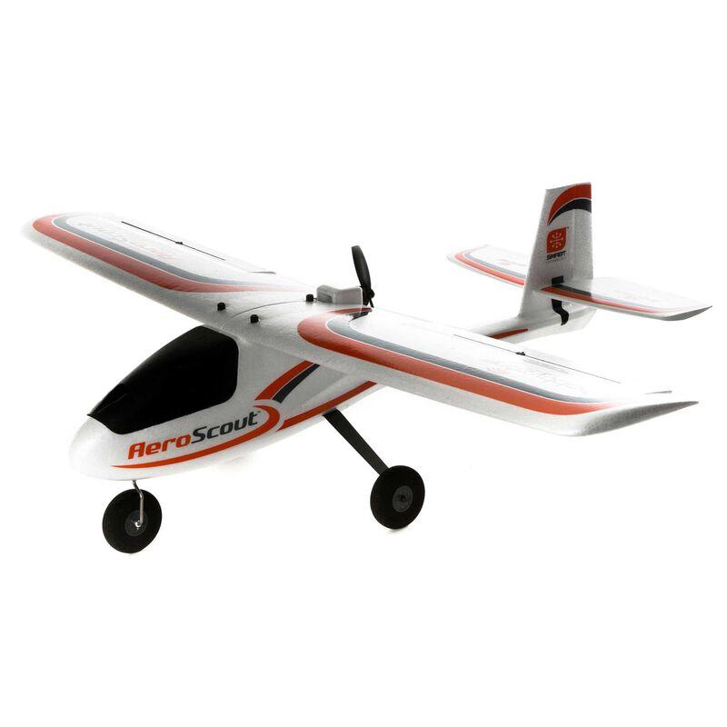 HobbyZone HBZ38500 - AeroScout S 2 1.1m BNF Basic