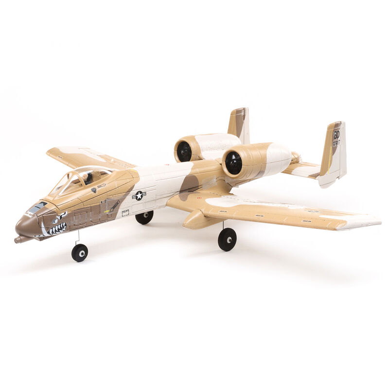 E-flite EFLU6550 - UMX A-10 Thunderbolt II 30mm EDF BNF Basic with AS3X and SAFE Select, 562mm