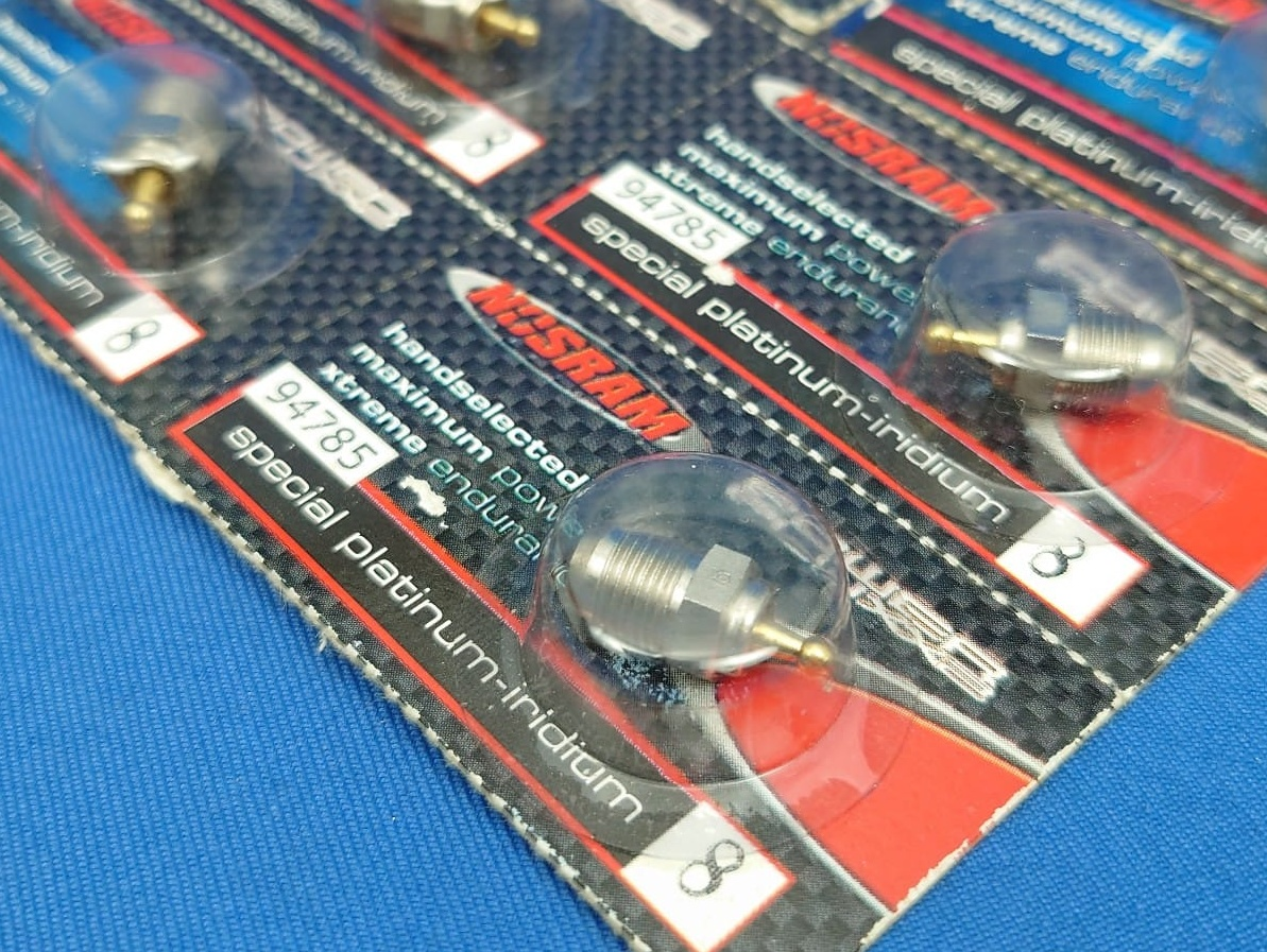 Nosram 94785 - Turbo Glow Plug, Cold, 1:10 & 1:8 Competition Enginse