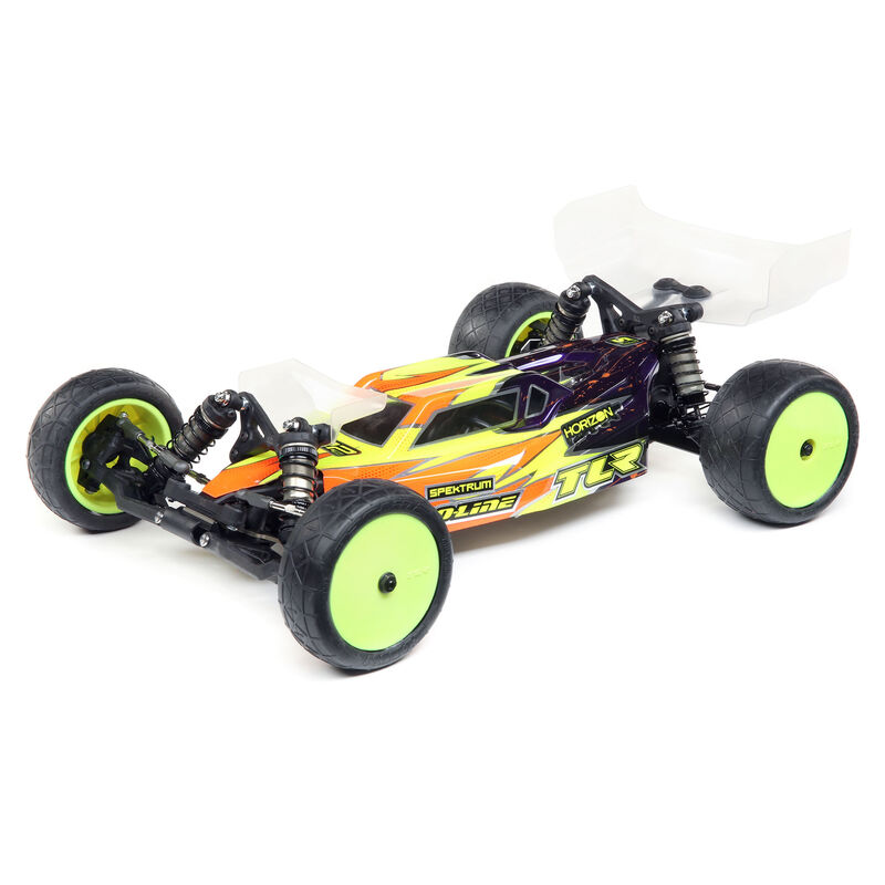 TLR 03012 - 1/10 22 5.0 DC Race Roller 2WD Buggy, Dirt/Clay