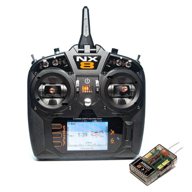 Spektrum SPM8200 - NX8 8-Channel DSMX Transmitter with AR8020T Telemetry Receiver