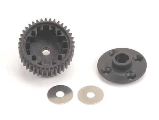 Schumacher U4387 - Gear Diff Mouldings (KR,LD,ST)