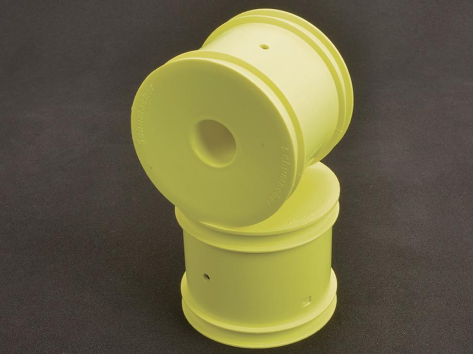 Schumacher U8000 - Stadium Truck Wheel - Neon Yellow