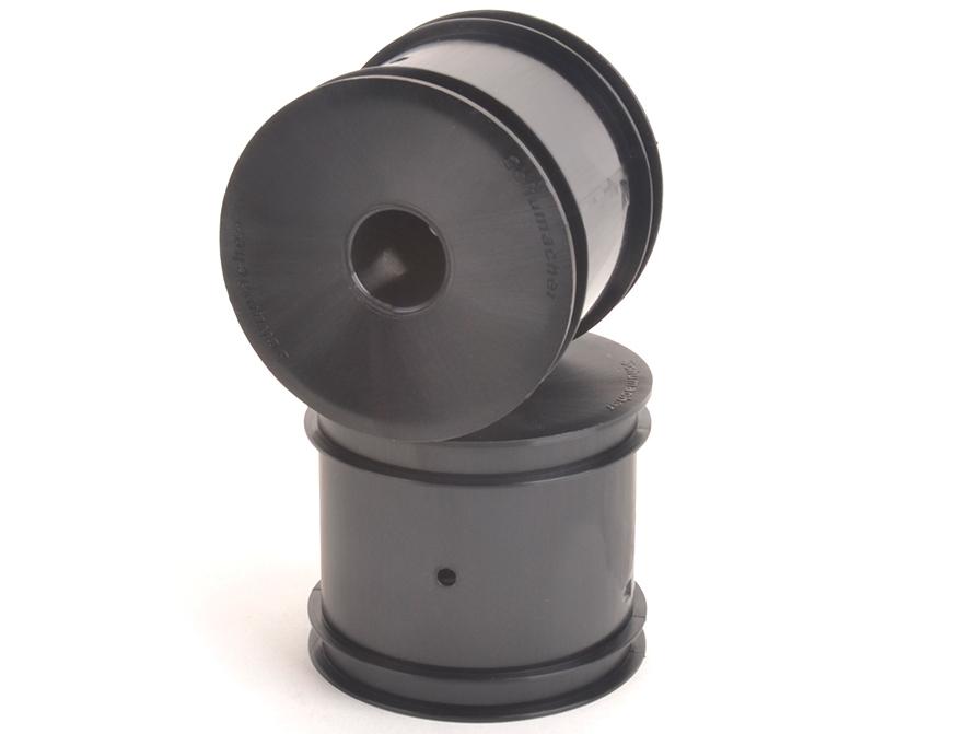 Schumacher U8001 - Stadium Truck Wheel - Black